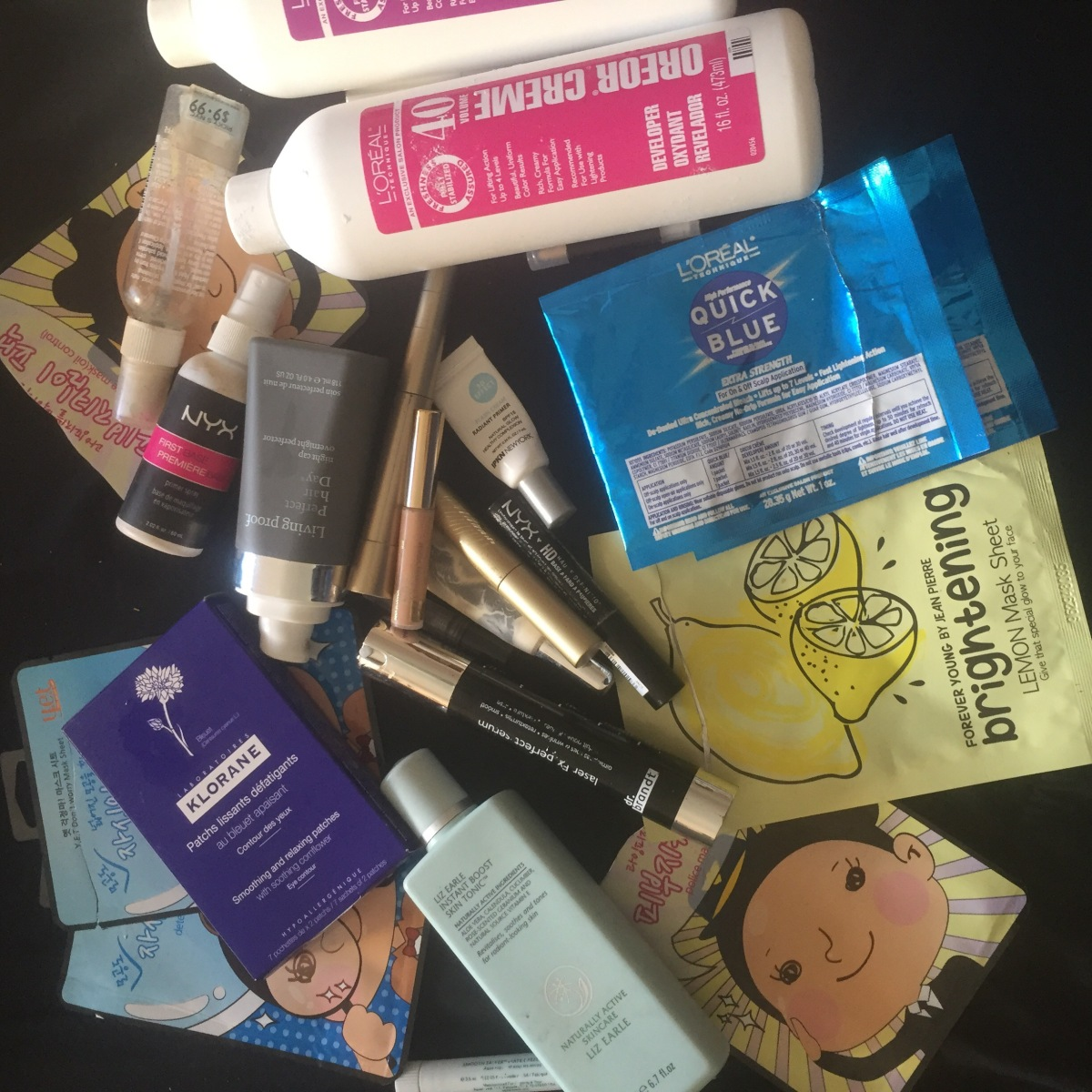 Beauty Trash October 2016