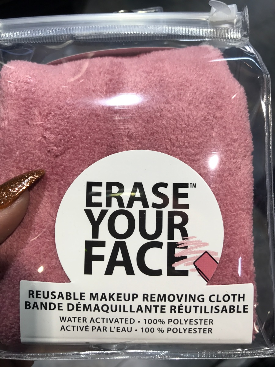 Let's Talk: Danielle Erase Your Face Reusable Makeup Removing Cloth