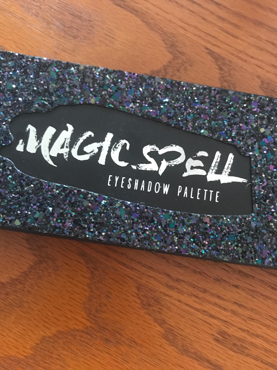 Blackheart Magic Spell Eyeshadow Palette Swatches