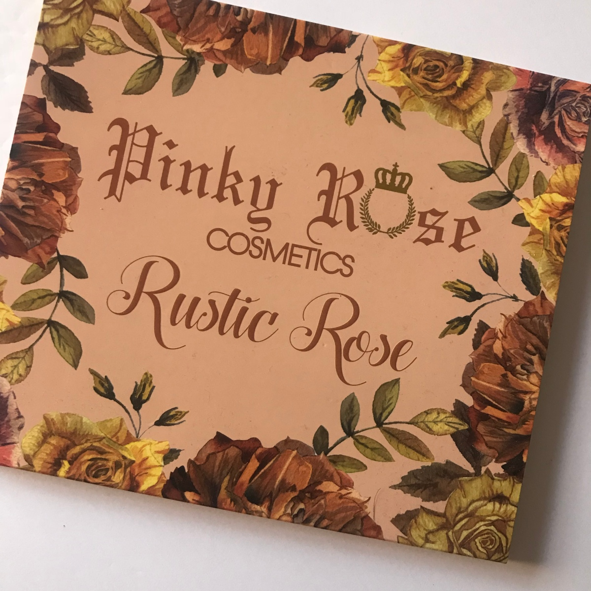 Thursday Thoughts: Pinky Rose Cosmetics Rustic Rose Palette